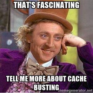 Wonka wonka wonka cache busting meme